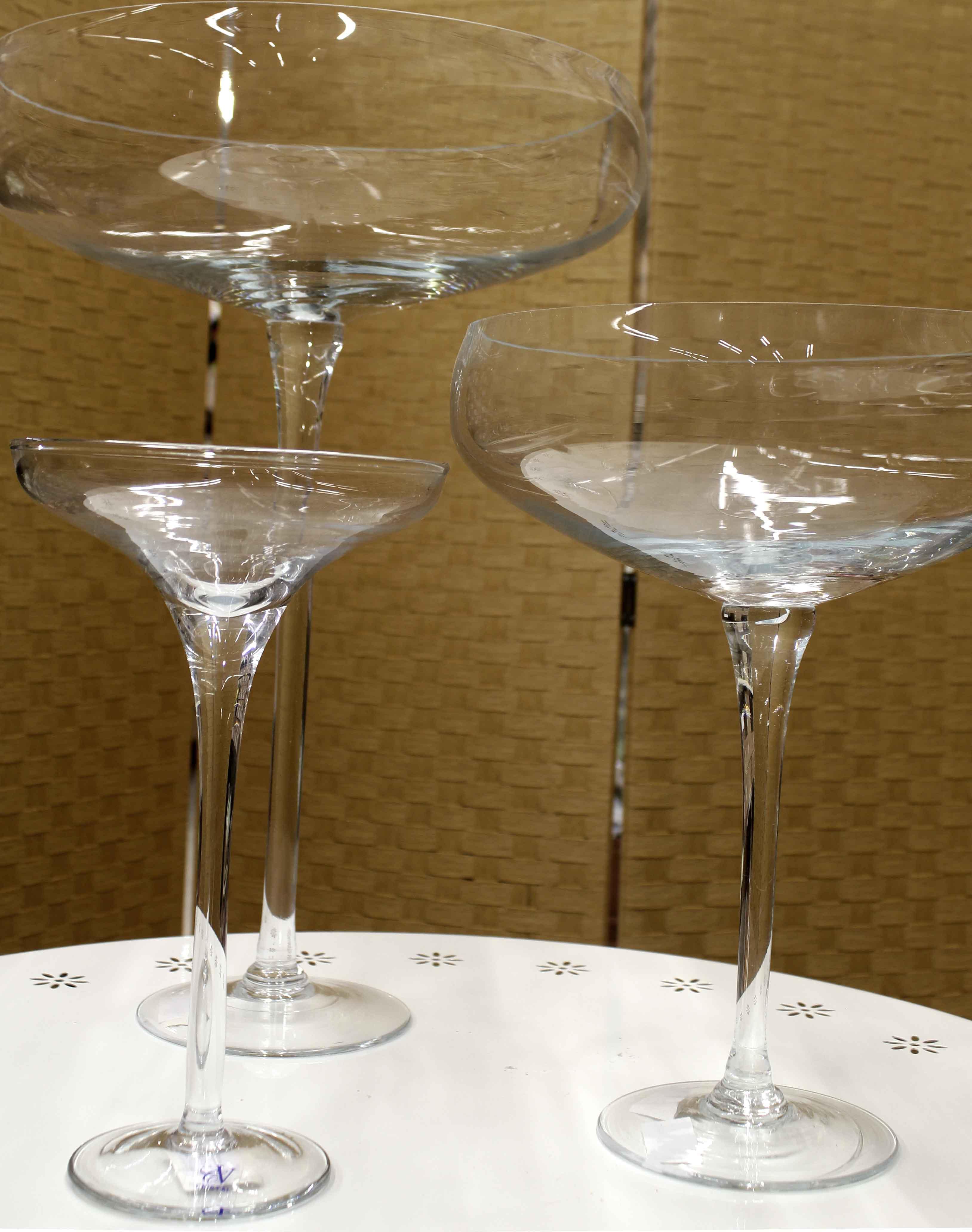 Vasi vetro tatone fiori for Vasi ermetici vetro